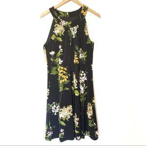 ▫️Tommy Hilfiger▫️ Black floral print dress